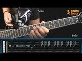 Fade to Black - Metallica - Parte 3/3 - Como Tocar no TV CIFRAS