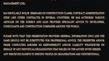 Construction Claims - What Is A Time Barring Clause? FIDIC