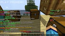 Minecraft Skyblock   MEET MY iBAE! Minecraft Skyblock Survival 2