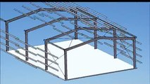Quotec - 3D Shed Construction Model - Steel Building Design & Quotation Software