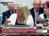 """Lilita Carrió a Timerman: """"Usted me ha entregado a mi, al pueblo hebreo y al pueblo argentino"""" #27F"""