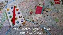 RATP Paris Metro Ligne 1 à 14