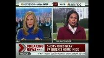 BREAKING: Gunshots Fired Around Vice President Joe Biden's Home