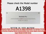 Generic Matt Tasche Case f?r Apple MacBook Pro Retina 15 Zoll mit Retina Display Model Schutzh?lle
