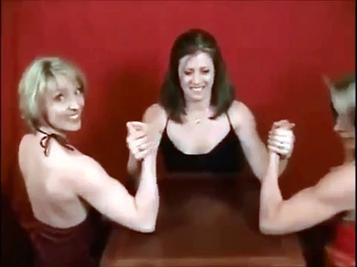 Bodybuilding for women     Armwrestling Challenge   Female fitness models  workouts for women