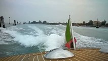 Water Taxi ride from Marco Polo Airport to Venice Italy by jonfromqueens