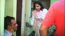 Wife Beaten her Husband Badly While Dating with Girl Friend. Must Must Watch