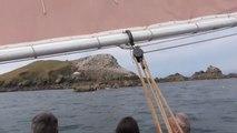 Cap sur les sept îles à bord d'un vieux gréement