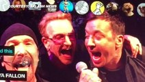 (VIDEO) Jimmy Fallon FUNNY Imitation At U2 Concert