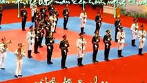 Military marching band performances of art music .quan Vietnam, concerts, special art opening