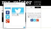 Comment Organiser vos Icônes de Réseaux Sociaux dans votre Site   Wix.com