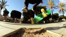 30yo skater does insane Tricks on tiny penny skateboard