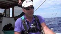 PECHE ILE MAURICE MARLIN BLEU RIVIERE NOIRE FISHING MAURITIUS BLUE MARLIN GOPRO 3 BLACK
