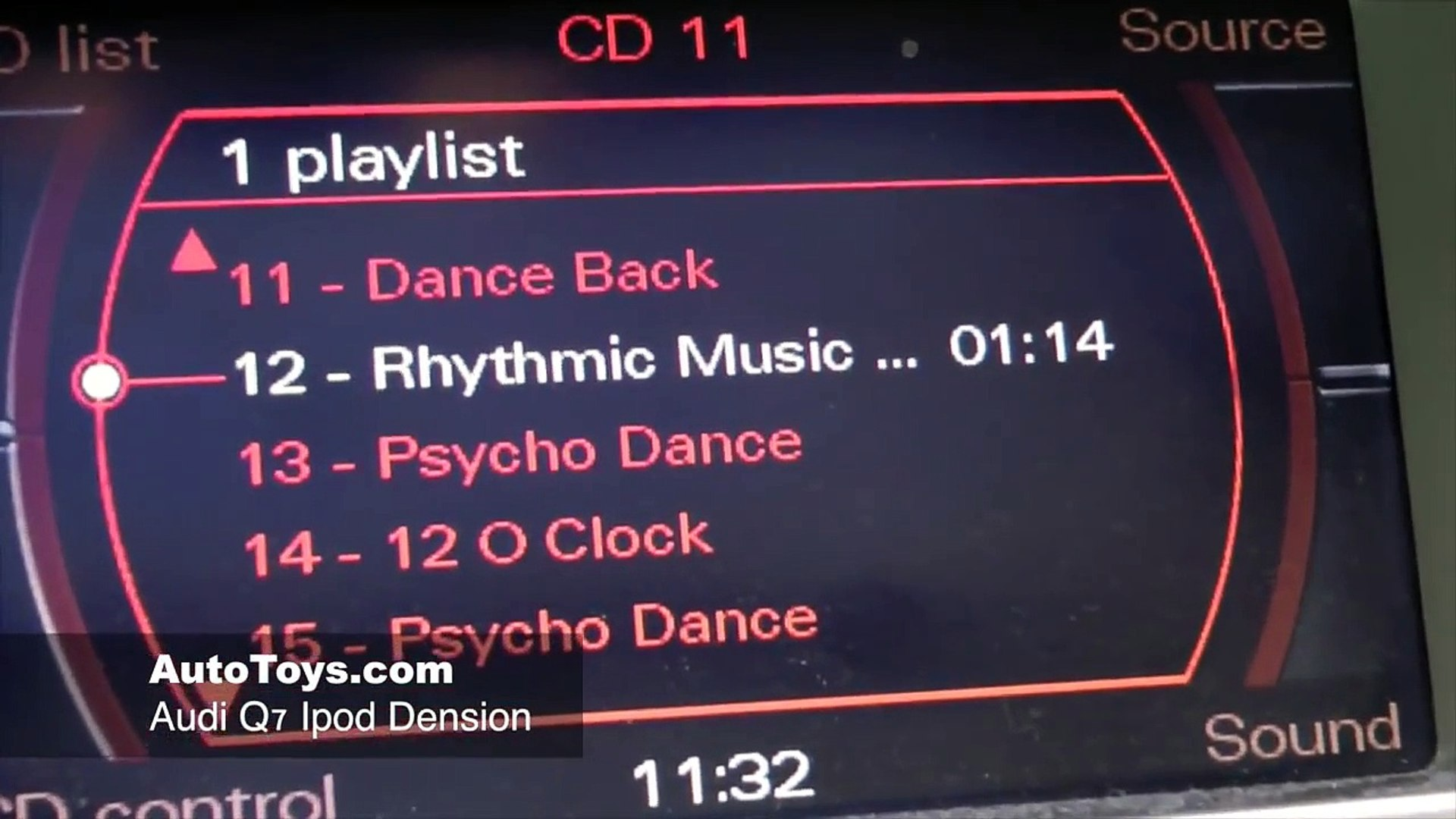 Audi Q7 IPOD USB Aux, Dension GW51Mo2 Installation MOST ( GW52MO2 ) by  Autotoys com