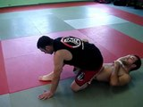 Kneebar from Half Guard