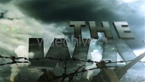 After Effects Project Files - War Logo Opener - Realistic Military Intro - VideoHive 7725040