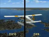 Direct X 10 Vs Direct X 9 Flight Simulator X in windows 7
