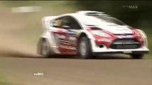 Evgeny Novikov´s Big Crash in WRC Rally Finland 2012