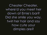 Cheater Cheater- Joey and Rory w\ lyrics. Studio version