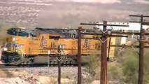 Westbound Union Pacific Autorack Train With Mid-train DPU...A second Look