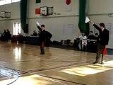 Irish Kendo Taikai 2009 - Team Event HSU in preliminary round