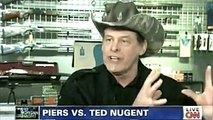"PIERS MORGAN Vs. TED NUGENT on ""Piers Morgan Tonight"" (Full Interview) Gun Control Round 2"