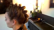 Beauty 101 - Google Glass Hair How-To: Segmented Ponytail