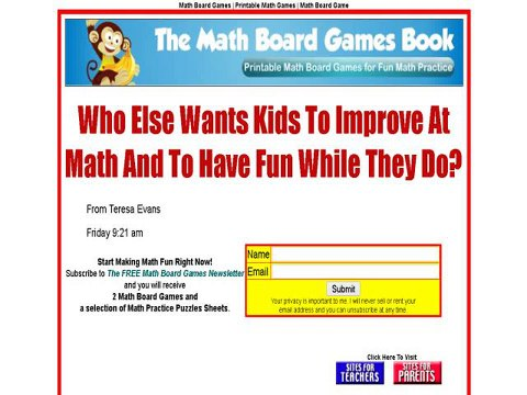 graphic regarding Printable Math Board Games referred to as The Math Board Online games Ebook - Printable Math Video games