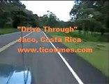 Driving Through Jaco, Costa Rica to the Beach