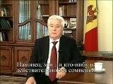 Discursul lui Voronin privind demisia din functia de presedinte