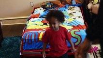 Chris Brown Spray Paints King's Bedroom - Kingin' With Tyga