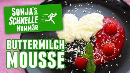 Buttermilch-Mousse - Rezept (Sonja's Schnelle Nummer #75)