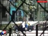 Robo registrado en Bajo Flores, Buenos Aires