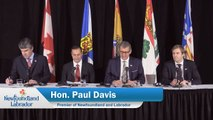 Closing Remarks by Premier Davis at 25th Council of Atlantic Premiers