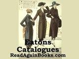 Eatons Catalogues 1920's Fashion : Hats - Eaton's Catalogue