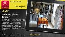 A vendre - maison - SAINT AUBIN DES CHATEAUX (44110) - 8 pièces - 125m²