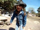 Children with Animals at Mexican Ranch, San Miguel deAllende