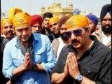 Bollywood superstars in Golden temple Amritsar