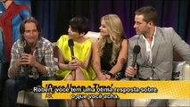 EW   San Diego Comic Con 2011   Once Upon A Time cast interview  [Legendado]