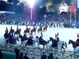 Carosello Storicodi Arma del Reggimento dei Carabinieri a Cavallo