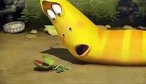 Film Larva Cartoon Growing A Plant Full HD
