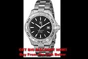 REVIEW TAG Heuer Men's WAP2010BA0830 Aquaracer Black Dial Watch