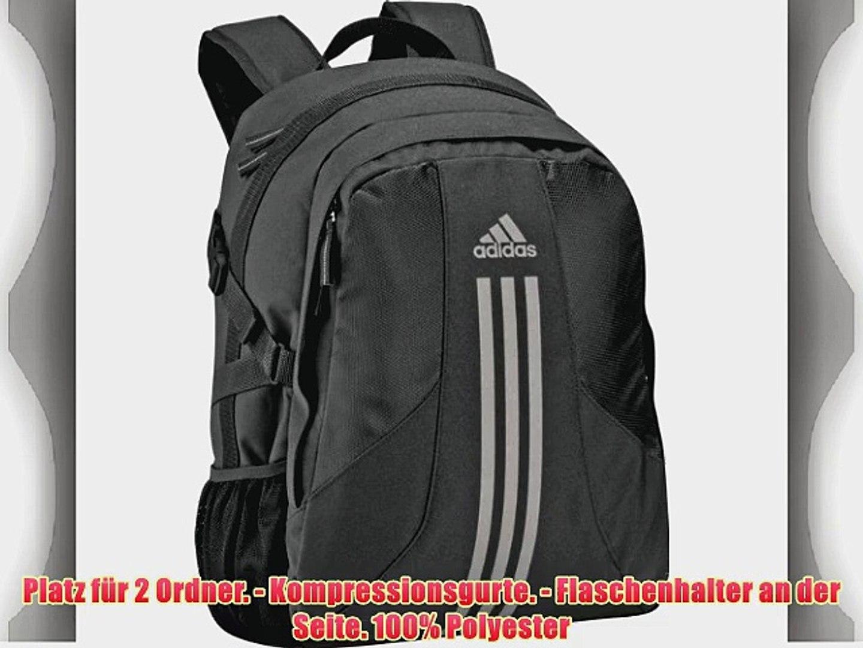 Adidas Rucksack SCHWARZ silber BTS Power BP Original Backpack Schulrucksack Tasche Sporttasche