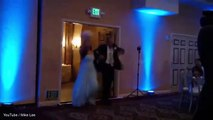 Is this the WORST wedding dance ever? Groom knocks out bride with a kick to the head as he performs