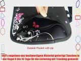Neue Stile 17 17.3 17.4 Zoll Laptop Netbook mit Schulterriemen Handgriff-Beutel-Kasten-Abdeckung