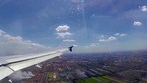 Thai Airways Airbus A320 landing Bangkok Suvarnabhumi