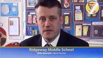 Ridgeway Middle School, Redditch, UK.