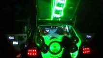 """Extreme pointer """"Linterna verde"""" show de luces y sonido.(tuning del mejor)"""