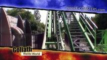 Goliath - Walibi Holland (Walibi World) | On-Ride (ECam HD)