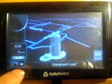 demo of mio/navman Knight rider Gps